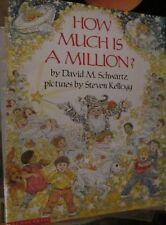 How Much is a Million?Teacher Big Book Schwartz Kellogg Scholastic Reading