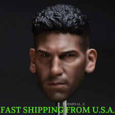 1/6 Punisher Head Sculpt Jon Bernthal For Hot Toys PHICEN Male Figure ❶USA❶