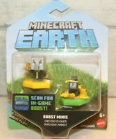 NEW Sealed Mojang Minecraft Earth Boost Mini Undying Evoker & Snacking Rabbit