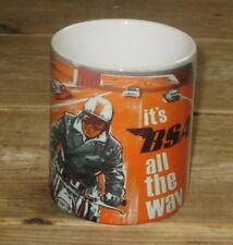 Its a BSA all the way Advertising Motorbike MUG