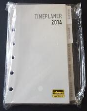 Kalendereinlage 2014, A7, 12,8 cm x 8,5 cm Agenda  Timeplaner von Idena TOP WARE