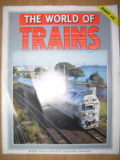 THE WORLD OF TRAINS MAGAZINE PART 45 GREAT NORTHERN RAILWAY CLASS G 4-2-2-