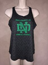 EUC Girls UND University of North Dakota Under Armour Tank Top Shirt Tee Youth L