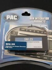 New listing Pac Sni-35 Adjustable Line Output Converter 2-50 Watts New In Package