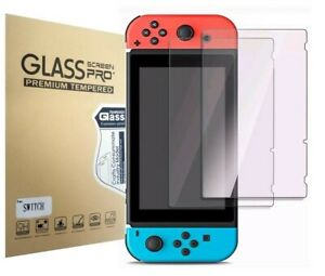 For Nintendo Switch Premium Tempered Ultra Clear HD Glass Screen Protector