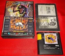 CRUE BALL Sega Mega Drive MegaDrive Versione Europea PAL ○ COMPLETO