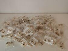 LOT REVENDEUR bijoux N° 445 / 50 paires de BO Anneaux et perles Tahiti fantaisie