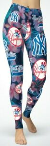 New York Yankees Small (2/4) - XL (14/16) Women's Leggings