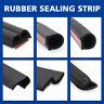 4/6/8/10M Car D P Z Shape Rubber Seal Strip Insulation Weatherstrip Sealing Trim