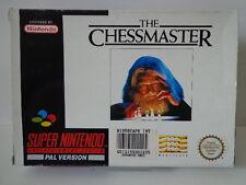SNES Spiel - The Chessmaster (mit OVP) (PAL) 10637074