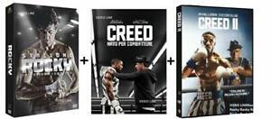 ROCKY La Saga Completa + CREED 1 + 2 (8 DVD)  Edizione Italiana