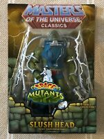 Slush Head MOTUC Masters of the Universe Classics MOTU w/ mailer box
