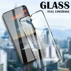 9H Full Curved Cover Tempered Glass For Nokia 2.3 2.2 3.2 4.2 6.2 7.2 X7 8.3 7.1