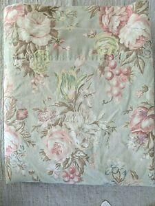 Ralph Lauren Charlotte Floral Queen Flat Sheet