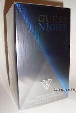 GUESS NIGHT BY GUESS PERFUME MEN EDt BIG 3.4 OZ SPRAY 100 ML NIB