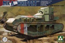 "CHAR MOYEN BRITANNIQUE ""WHIPPET"" Mk.A, WW1 -KIT TAKOM INTERNATIONAL 1/35 n° 2025"