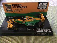 Benetton Ford B193b M. Schumacher 1:43 Minichamps Portugal GP 1993