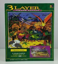 3D 3 Layer Dinosaurs BGi Jigsaw Puzzle 540 Piece