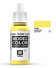 "Vallejo ""Model Color"" Light Yellow Acrylic Paint: 17ml Bottle - 70.949"