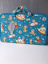 SALE! 'Retro Rocket' Fabric Sewing/Craft Case