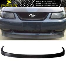 Fits 99-04 Ford Mustang GT SVT OE Style V6 V8 Front Bumper Lip Spoiler Splitter
