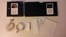 Apple iPod classic 5th Gen.Late 2006 White 30GB 'Enhanced 5.5 ' Wolfson chip!