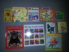 Lot of 10 Children's Boys Books EUC