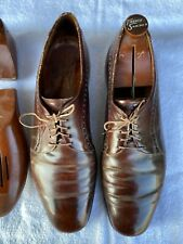 Vintage Alan McAfee bench made in England classic oxford men's shoe size 12c