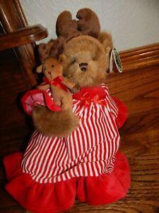 "Bearington Bears ""Pircilla & Prancer"" 14"" Collector Bear-Christmas 2010"