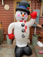 Holiday/ Christmas Snowman Blowup Inflatable Yard Decoration