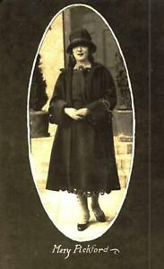 Mary Pickford Original Postcard 2528