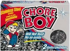 Chore Boy, 12 Pack, Stainless Steel Scouring Pad
