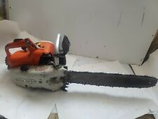 Stihl 08 S Chainsaw Red White Vintage Used