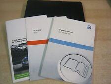 VW GOLF GTI GTD  HANDBOOK PACK OWNERS MANUAL WALLET  2009-2012