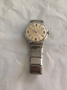 Vintage Steel Timex Automatic Men's Watch