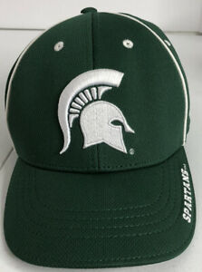 Michigan State Spartans Hat Pre Owned StrapBack Cap NCAA Off. Merch. HAS STICKER