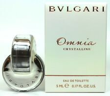 Bvlgari Omnia Crystalline 0.17 oz Edt Splash Mini For Women New In Box