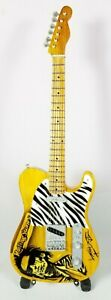 Rolling Stones Keith Richards Miniature Tribute Guitar with Stand - RS13