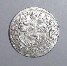 1623 Medieval Poland, Sigismund III. (1587-1632) AR 3 Polker