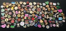 NEW 50 Floating Locket Charms (mixed lot) * USA Seller *