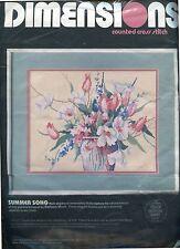 Flowers   Summer Song   Cross kit Kit   new