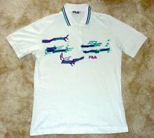 FILA Polo shirt Tennis BORIS BECKER 1991 WIMBLEDON vintage US XL / D 54