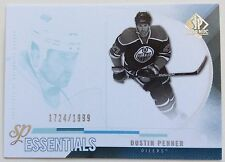 2010-11 DUSTIN PENNER UD SP AUTHENTIC ESSENTIALS SP #156 OILERS #1724/1999