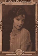 1921 Mrs. Irene Castle Treman - Screen Star Pictured On Cover