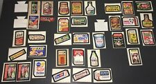 TOPPS WACKY PACKAGES (1973) SERIES #5 (32 OF 33 STICKERS) + BONUS CARDS!