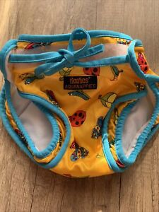 Aquanappies Schwimmwindel Badehose Baby Gr. 6-12 Monate