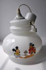 Disney chandelier / lighting / vintage Mickey / the 3 little pigs / bambi