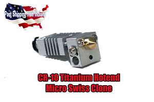 All Metal Hotend Kit for CR-10 , Ender, Titanium Alloy Heatbreak, Creality