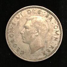 UK GB SHILLING 1941 ENGLISH SILVER Coin
