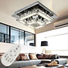 36W Led Deckenlampe Kristall Deckenleuchte Dimmbar mit FB IP44 Badleuchte DHL DE
